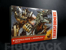 Transformers, AOE Voyager Class Optimus Prime Grimlock 2 Pack Set (Platinum Ed)