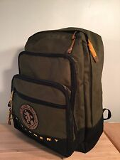 Mickey Mouse Walt Disney World Equipment Patch Backpack Dark Green Organizer