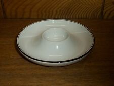 Porcelain Egg Cup Dish - Brown Trim Boutique - Villeroy & Boch