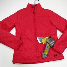 $200 Women's Under Armour UA ColdGear® Infrared Micro Jacket Small Fury NWT