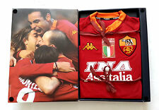 AS ROMA 2000 Ltd Edition Boxed Official New Vtg KAPPA Shirt Jersey Maglia 2001