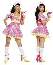 Candy Girl 3 pc costume S/M 8- 10 Costume JValentine Fairy Tale Girl Hen Night
