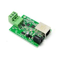 Serial RS485 to Ethernet TCP/IP Converter Module HTTPD Client Networking LAN WAN