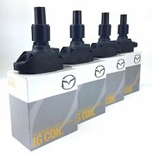 MAZDA RX8 IGNITION COIL PACKS SET OF 4 BRAND NEW 2YEARS WARRANTY LATEST VERSION