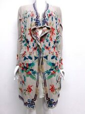 NWT BIYA by Johnny Was Myre Long Embroidered Wrap Jacket -XL - JW20820117