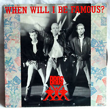"7"" Vinyl BROS - When will i be famous?"