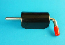 FREE P&P* 150mm Spring Latch Shoot Bolt & Black Cover for Trailers Horsebox