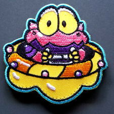 """Cosmo Gang UFO patch - 2.5"""" x 2.5"""" with hook and loop backing - famicom"""