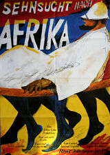 Sehnsucht nach Afrika Filmposter A1 Jean Carmet, Jean Dufilho, Catherine Rouvel