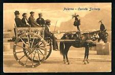 Palermo : Carretto Siciliano - non viaggiata , indicativamente primi '900