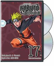 Naruto: Shippuden - Box Set 17 (DVD, 2014, 2-Disc Set) NEW