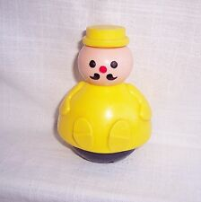 FISHER PRICE FLOATING YELLOW MAN LITTLE PEOPLE- REPLACEMENT PIECE:VINTAGE 1970'S