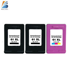 3PK 61XL Ink Cartridge For HP ENVY 4500 4501 4502 4504 5530 5533 printer