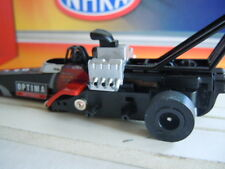 Modified Patriot USA Slot Car Chassis ~ AW Top Fuel Dragster ~ Optima Batteries