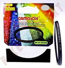 CAMDIOX UV MC 55MMPRO1 DIGITAL FILTRO SUPER SLIM ULTRAVIOLETTO COME HOYA MARUMI