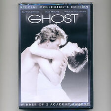 Ghost 1990 romantic PG-13 movie, new DVD Patrick Swayze, Demi Moore, W. Goldberg