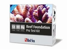RED SEA REEF FOUNDATION PRO MULTI TEST KIT CALCIUM, MAGNESIUM & ALKALINITY REEF