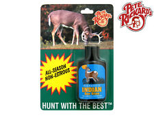 RICKARDS - NEW 1 1/4 OZ. INDIAN DOE URINE NON-ESTRUS - WHITETAIL BUCK LURE