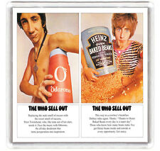 THE WHO SELL OUT 1967 LP COVER FRIDGE MAGNET IMAN NEVERA