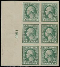 #531 XF OG (2)HR (4)NH PLATE # BLOCK OF 6 CV $110.00 BQ4968