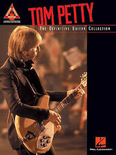 TOM PETTY - DEFINITIVE GUITAR COLLECTION TAB SONG BOOK