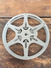 Vintage 16mm empty 400ft Kodak Kodascope Projector Cine film Reel spool Steel