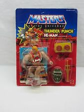MOTU,VINTAGE,THUNDER PUNCH HE-MAN,Masters of the Universe,MOC,SEALED,figure