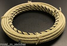 68 FT - 4 STRAND MEXICAN CHARRO SOGA DE IXTLE WESTERN RIATA COWBOY LARIAT ROPE