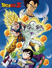 "60"" DBZ Throw Blanket Frieza, Goku & Group w/ Sky - GE-57662 - Dragon Ball Z"