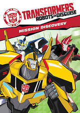 Transformers Robots In Disguise Mission Discovery DVD Cartoon Network NEW SEALED