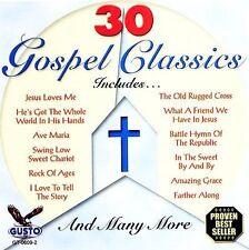 FREE US SH (int'l sh=$0-$3) NEW CD Various Artists: 30 Gospel Classics Import