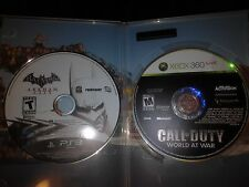 COD World At War 360/ Batman Arkham City PS3