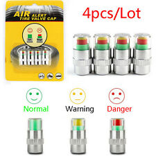 4PCS 2.0Bar 30PSI Car Auto Tire Pressure Monitor Valve Stem Cap Sensor Indicator