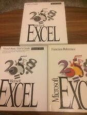 Microsoft Office Excel Manuals Full Set