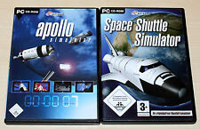 Apollo simulador & Space Shuttle simulador-pc-como nuevo