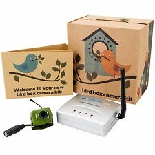 Green Feathers Wireless Bird Box Camera 700TVL & Receiver Kit with Night Vision