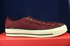 CONVERSE CHUCK TAYLOR CT AS OX 1970 DEEP BORDEAUX EGRET CORDUROY 153986C SZ 12