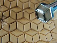 Stainless Steel Barry King - #2 Tri-Hex Hollow Geometric Stamp (Leather Tool)