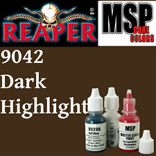DARK HIGHLIGHTS 9042 - MSP core 15ml 1/2oz paint peinture REAPER MINIATURE