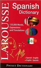 Larousse Pocket Dictionary : Spanish-English  English-Spanish