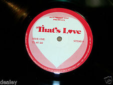 MADONNA RIGHTEOUS RONSTADT SEALS CROFTS SMOKEY JOEL COLLINS, THAT'S LOVE 3-LP's