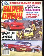 Super Chevy Magazine June 1987 Junior Johnson VG No ML 022717nonjhe