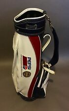 Miller Golf Bags PGA Tour Pepsi Sponsered Cart/Carry Red/White/Blue