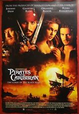 Pirates of the Caribbean 27x39 International Red Movie Poster 2003