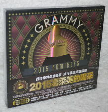 V.A 2015 GRAMMY NOMINEES Taiwan CD w/BOX (TAYLOR SWIFT ED SHEERAN SIA)