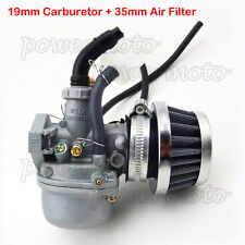 Carb Carburetor Air Filter For Chinese 50 70 90 110 cc Pit ATV Quad 4 Wheelers