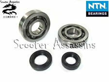 CRANKSHAFT BEARINGS + OIL SEAL KIT for KYMCO KB 50 Meteorite/Scout 50,Curio CX
