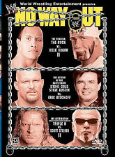 WWE - No Way Out 2003 (DVD, 2003) KOCH VISION VERSION