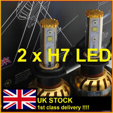 H7 LED LUNEX +300% CAR HEADLIGHT BULBS H7 4000 LUMENS-HALOGEN-CONVERSION LUNEX