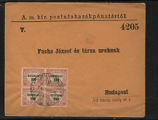 Hungary  04 block official  cover             AT0529